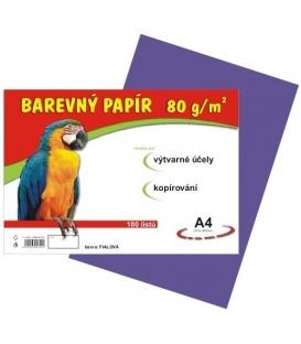 Papír náčrtkový A4 80g fialový