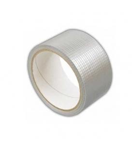 Páska lepící 50mm x 10m stříbrná, voděodolná