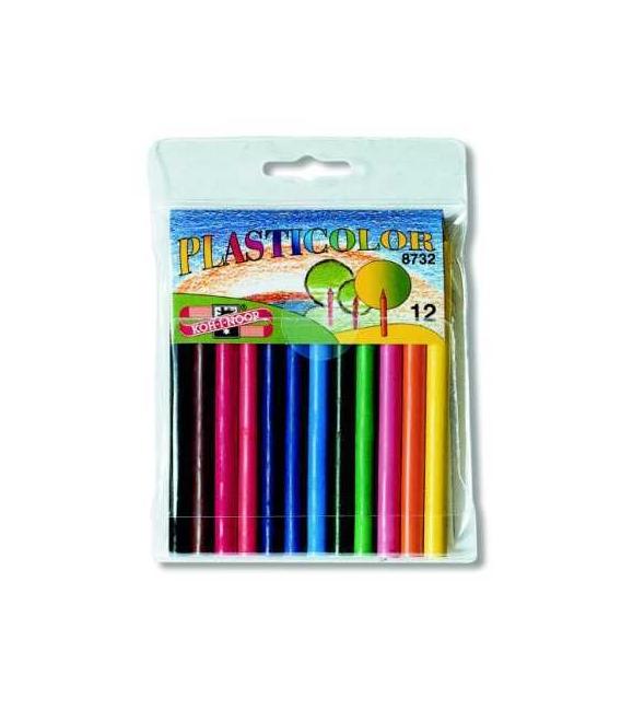 Pastelky 8732/12 plasticolor