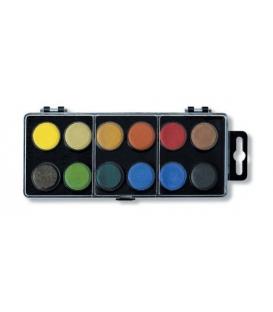 Barvy vodové 22,5mm/12 černé