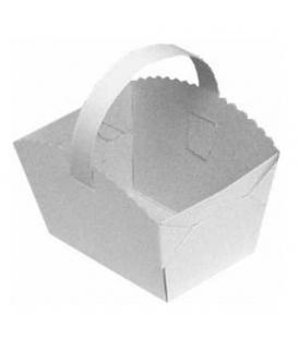 Košíčky svatební s ouškem 10x8x6cm / 10ks