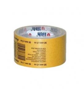 Páska lepící 50mm x 5m oboustranná s tkaninou