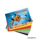 Karton kreslící barevný A4 180g