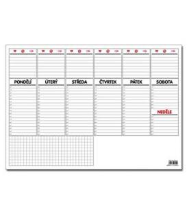 Kalendář stolní A3 týdenní /30 listů/