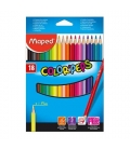 Pastelky MAPED ColorPeps 18