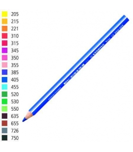 Pastelka Stabilo trojhranná silná tmavě modrá č.405