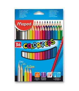 Pastelky MAPED ColorPeps 36