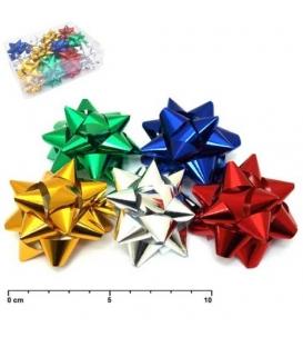 Hvězdička metalická 2/11cm