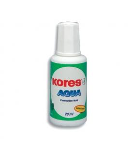 Lak opravný Aqua 20ml Kores