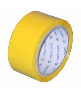Páska lepící 50mm x 66m žlutá
