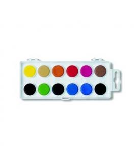 Barvy vodové 22.5mm/12 bílé