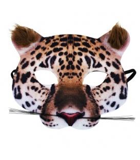 Maska karnevalová gepard dětský