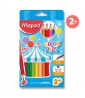Pastelky MAPED MAXI 12 barev