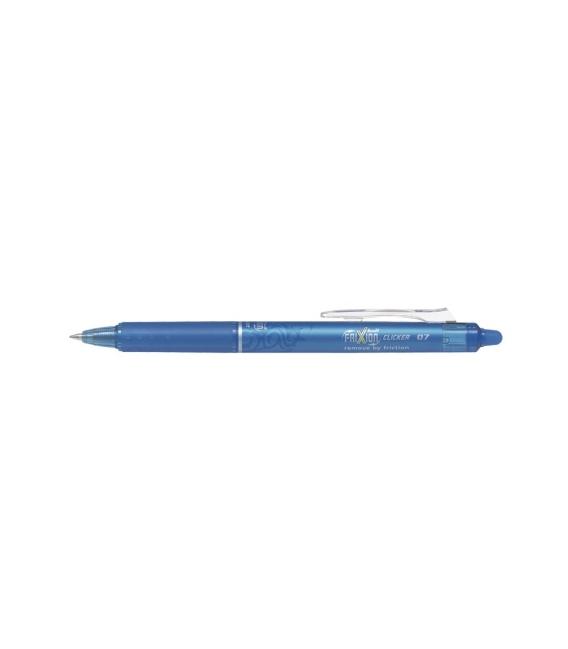 Roller přepisovatelný Pilot Frixion Clicker 0,7mm sv.modrý