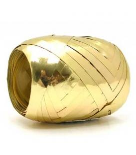 Stuha 0,5x20m metal vajíčko zlatá