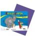 Karton kreslící barevný A4 180g fialový