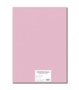 Fotokarton A4/10/300g růžový