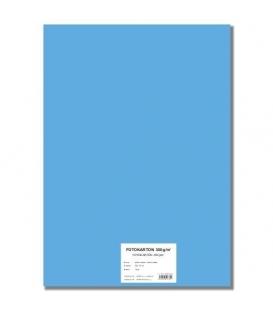 Fotokarton A4/10/300g světle modrý