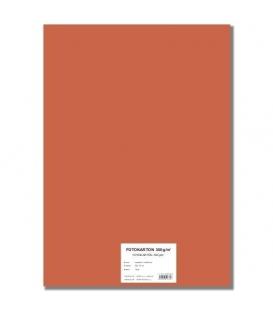 Fotokarton A4/10/300g oranžový