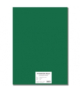 Fotokarton A4/10/300g tmavě zelený