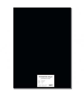 Fotokarton A4/10/300g černý