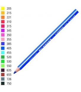 Pastelka Stabilo trojhranná silná červenofialová č.345