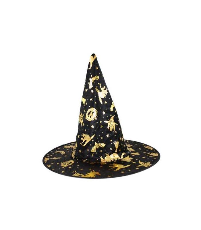 1f8cd838b Maska karnevalová Klobouk Čarodějnice-Halloween děstký