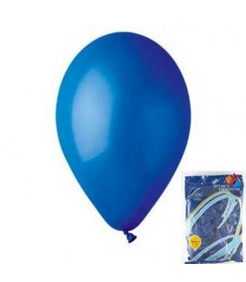 Balónek nafukovací kulatý modrý/ 100ks