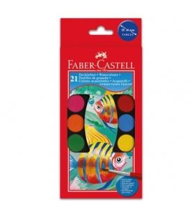 Barvy vodové Faber 21 barev