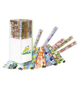 Papír balící 70x100/ 2ks v roličce ARIA