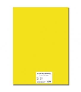 Fotokarton A4/10/300g žlutý