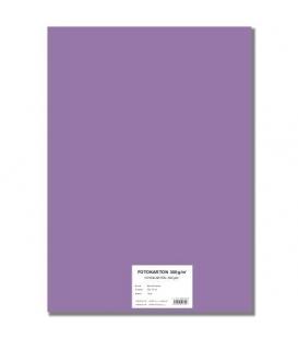 Fotokarton A4/10/300g fialový