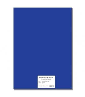 Fotokarton A4/10/300g tmavě modrý