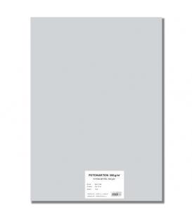 Fotokarton A4/10/300g šedý