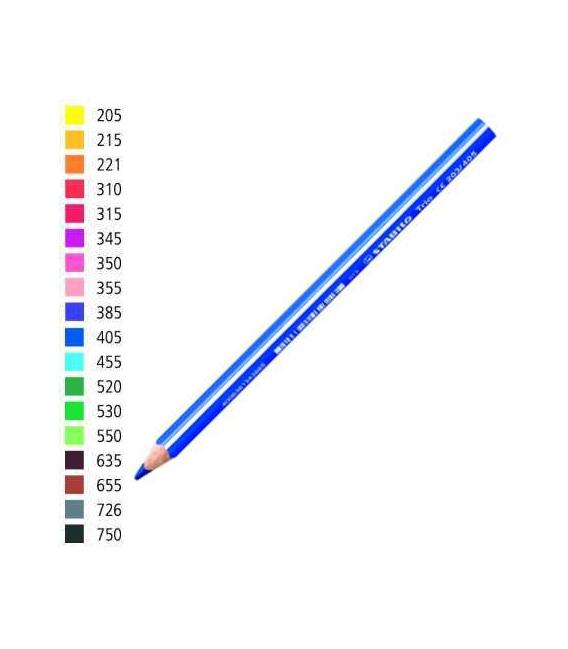 Pastelka Stabilo trojhranná silná světle zelená č.550