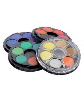 Barvy vodové 24 odstínů kulaté 171506