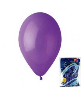 Balónek nafukovací kulatý fialový/ 100ks