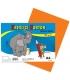 Karton kreslící barevný A4 180g oranžový