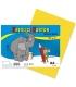 Karton kreslící barevný A4 180g žlutý
