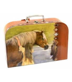 Kufřík dětský na malířské potřeby 35cm Horse my friend
