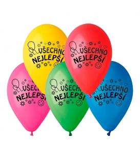 Nafukovací balónky VŠECHNO NEJLEPŠÍ
