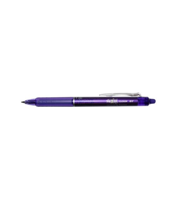 Roller přepisovatelný Pilot Frixion Clicker 0,7mm fialový
