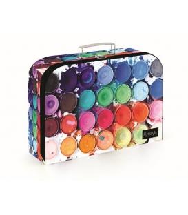 Kufřík dětský na malířské potřeby 34cm Barvy