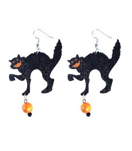 Maska karnevalová Náušnice kočky čaredějnice