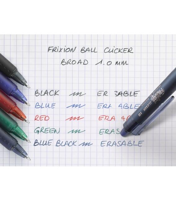 Roller přepisovatelný Pilot Frixion Clicker 1 mm mod-čer