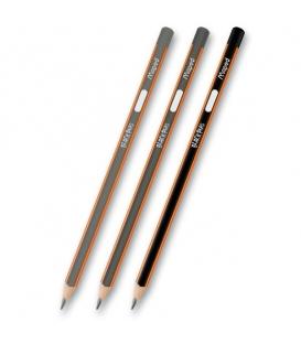 Tužka MAPED Black Peps trojhranná 2B