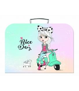 Kufřík dětský na malířské potřeby 35cm Nice Day