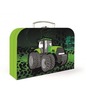 Kufřík dětský na malířské potřeby 34cm Traktor