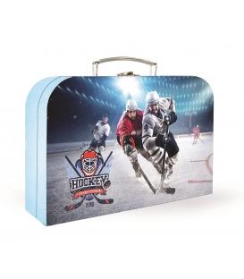 Kufřík dětský na malířské potřeby 34cm Hokej