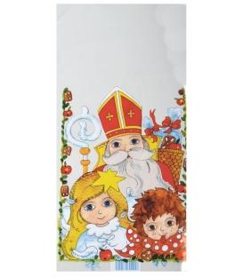 Sáček vánoční Mikuláš 20x40cm /CEM-0001/